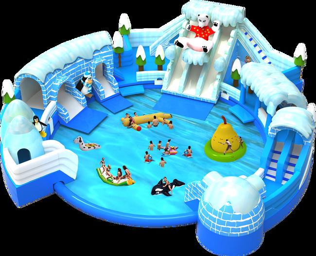 bwin娱乐app水滑梯冰雪世界3d图片