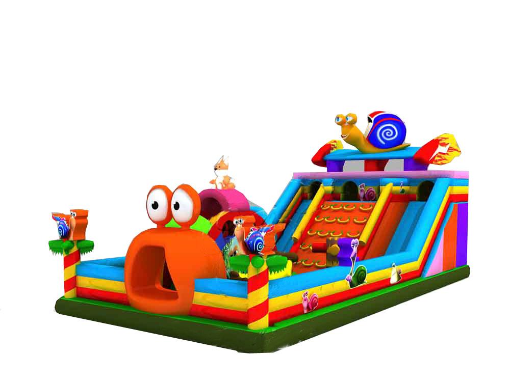 广场儿童bwin娱乐app城堡蜗牛大滑梯图片